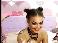 Crazy Webcam Girl Great Show 5