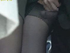 gropeing office lady Torn pantyhose