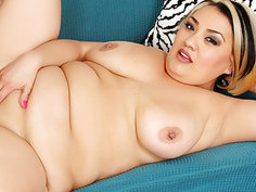 Sexy fat milf SinFul Celeste gets her pussy drille